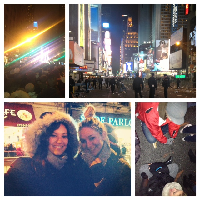 FROM NEW YEARS EVE IN TIMES SQUARE