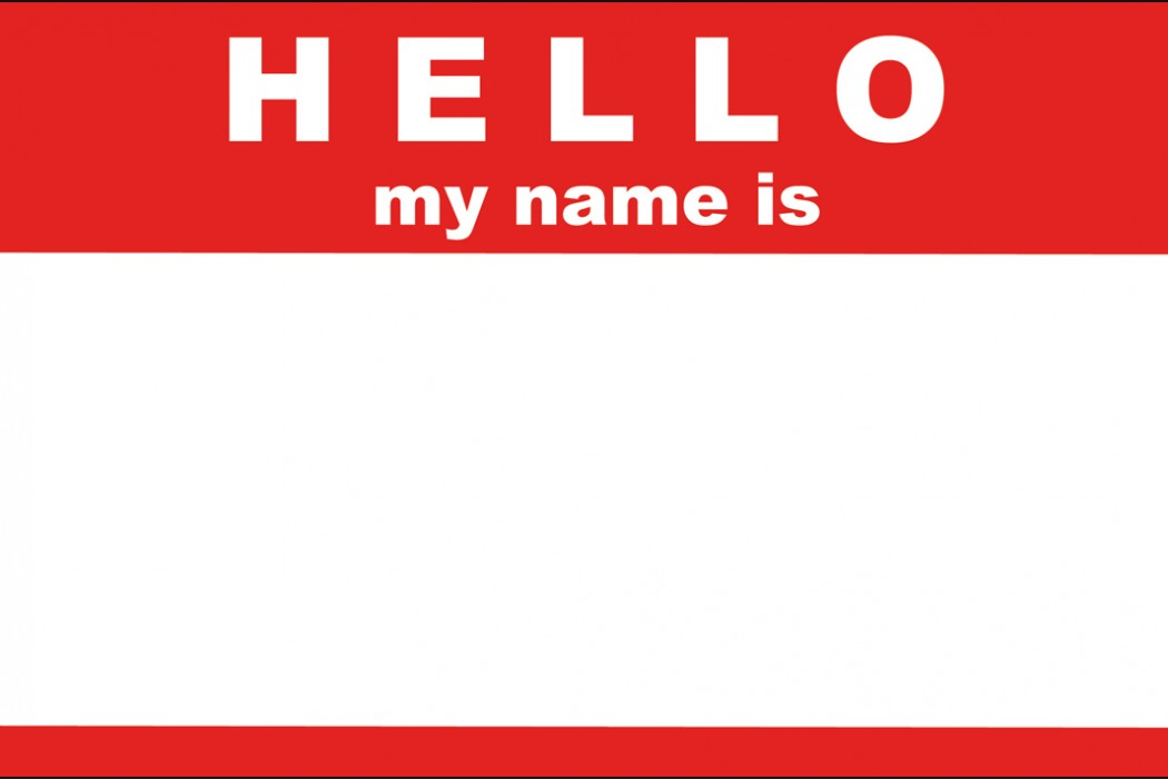 refinance can my name be on Hello My Name Is Sticker by trexweb on deviantART