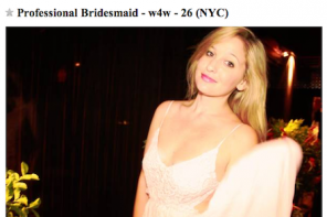 FROM THE TRUTH ABOUT BRIDESMAID FOR HIRE