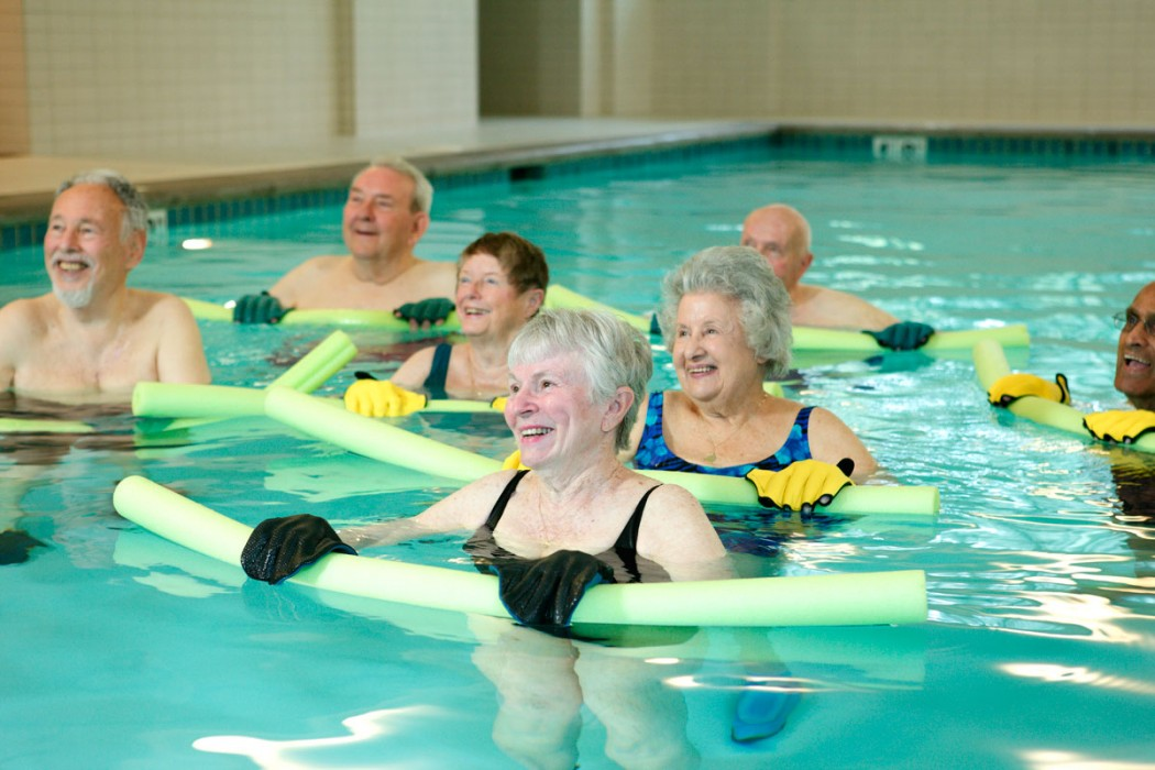 Water aerobics classthe things i learned from jen glantz Valentine pool swimming lessons